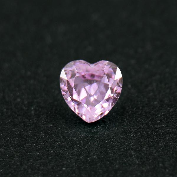 Unheated Sapphire .30 Ct Amazing Gemstone Heart Well Cut (01703)