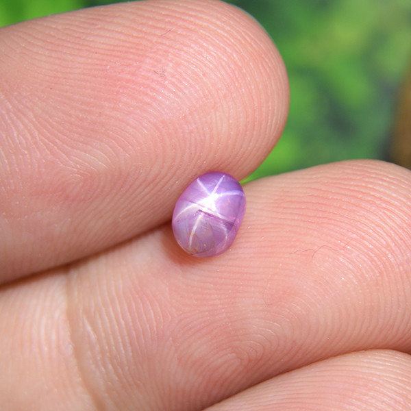 Natural Untreated Pink Star Sapphire  0.78 Ct. (01417)