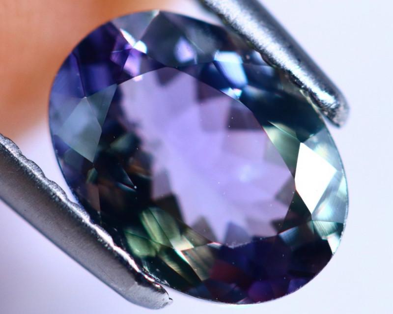 1.96cts Violet Blue D Block Tanzanite / KL46
