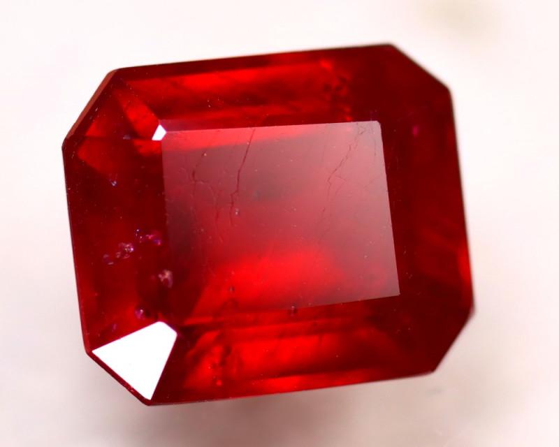 Ruby 12.41Ct Madagascar Blood Red Ruby DR181/A20