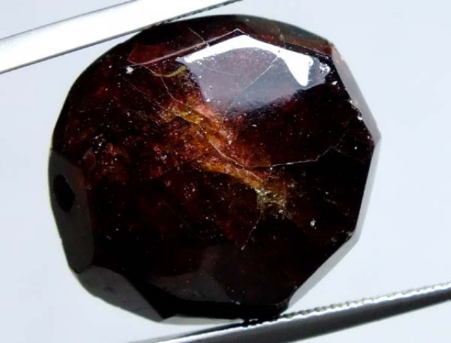 GARNET FACETED BEAD NATURAL 35 CTS NP-983