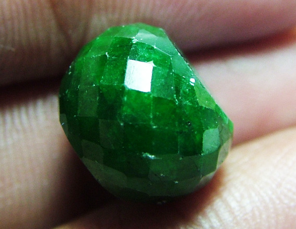 13.95CTS EMERALD BEAD FACETED CG-2311
