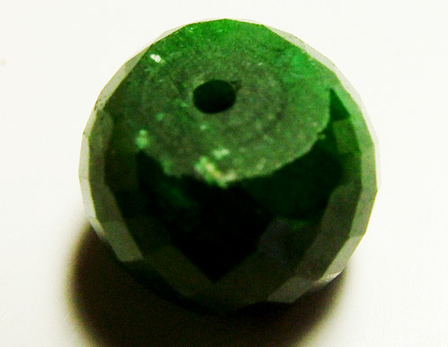 EMERALD BEAD FACETED 15 CTS AS-597