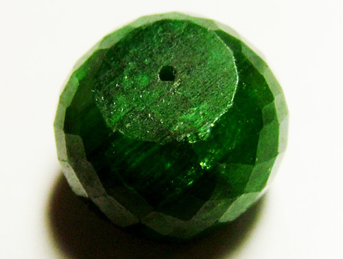 EMERALD BEAD FACETED 12 CTS AS-599