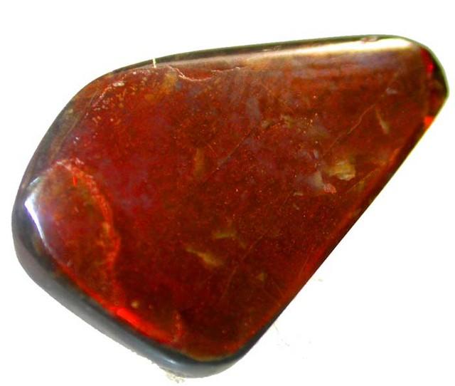 FIREY AMMOLITE  -FLASY RED ORANGE  7.95 CTS [MX4026 ]
