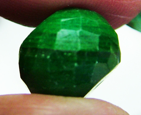EMERALD BEAD FACETED 10 CTS AS-624