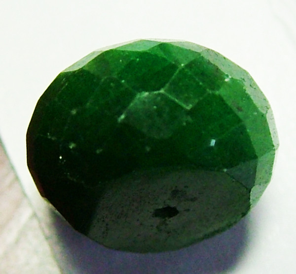 EMERALD BEAD FACETED 10 CTSAS-625