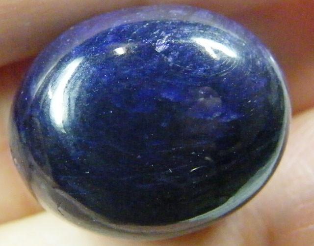 NATURAL  DEEP BLUE SAPPHIRE BEADS 46.3 CTS ST 214