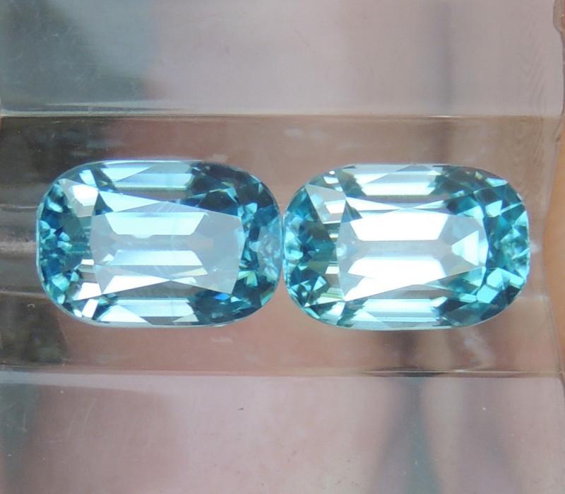 4.53cts, Blue Zircon,