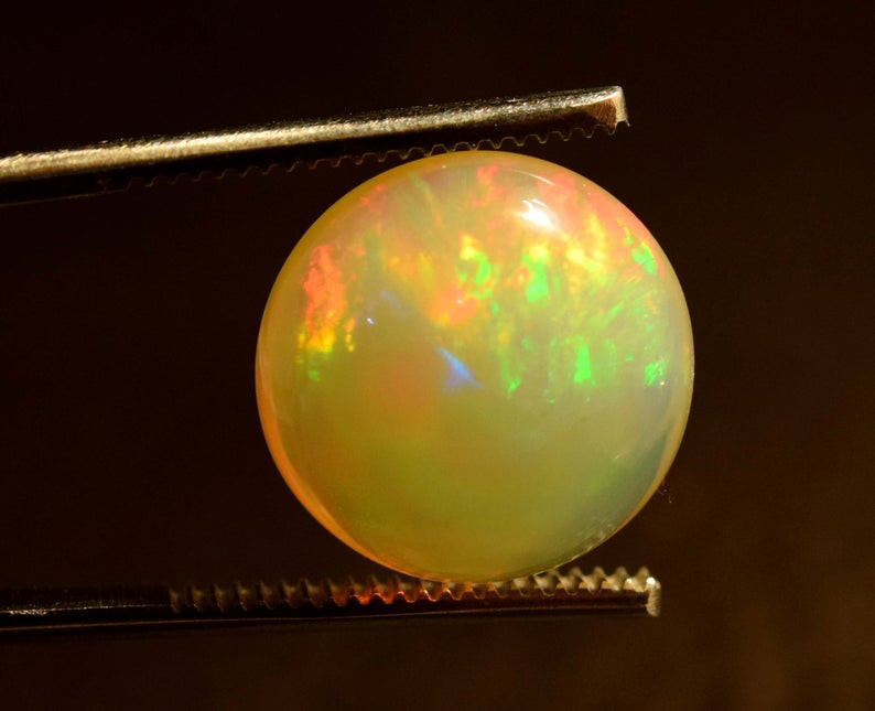 8.90 Carats Color Ultra Fire Opal Cabochon Gemstone