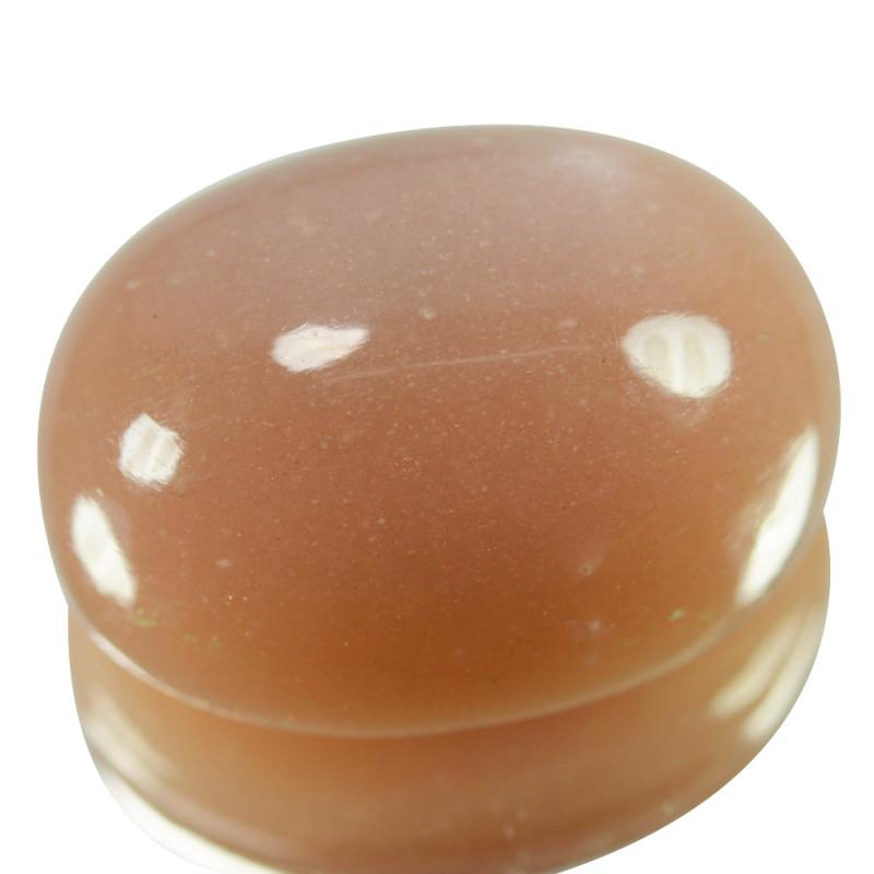 25.15 Cts Natural Orange Moonstone Oval Cabochon Bihar India