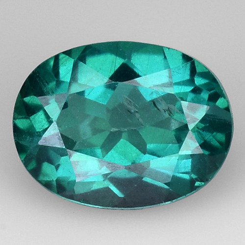 1.68 Ct Green Topaz  Top Luster Gemstone. GT5
