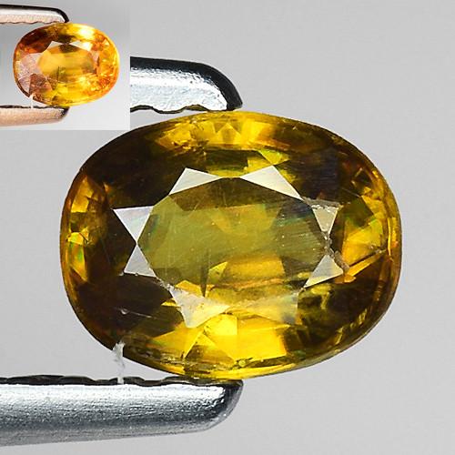 0.47 Ct Natural Sphene Color Change Sparkiling Luster Gemstone SF13