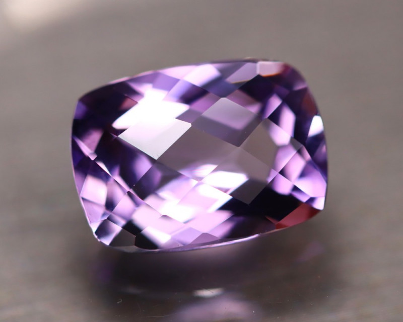 Lavender 5.88Ct Natural Master Cutting Lavender Amethyst E2110/A2