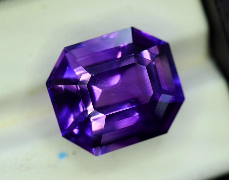 Amethyst, 17.25 Cts Natural Top Color & Cut Amethyst Gemstones