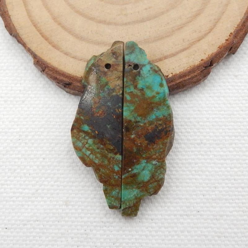 27.5cts Turquoise Earrings,Handmade Gemstone ,Turquoise Earrings  G723