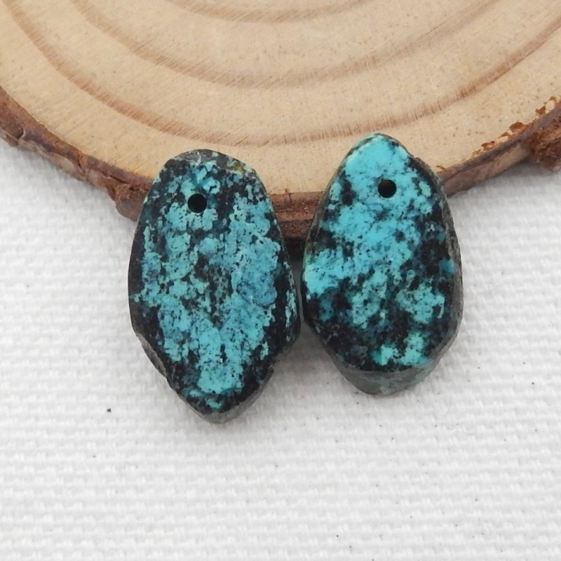 9cts Turquoise Earrings,Handmade Gemstone ,Turquoise Earrings  G717