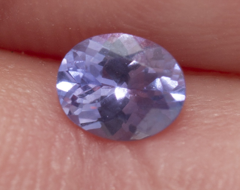REDUCED .43  CTS.  SAPPHIRE, BLUISH PINK