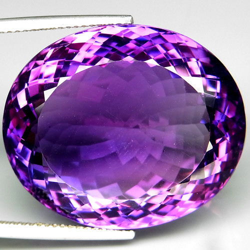 59.09Ct. 100% Natural Earth Mined Top Quality Rich Purple Amethyst Uruguay