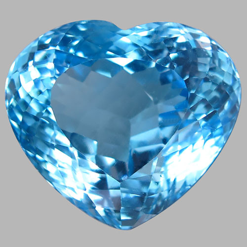 34.89  ct. 100% Natural Earth Mined Top Quality Blue Topaz Brazil