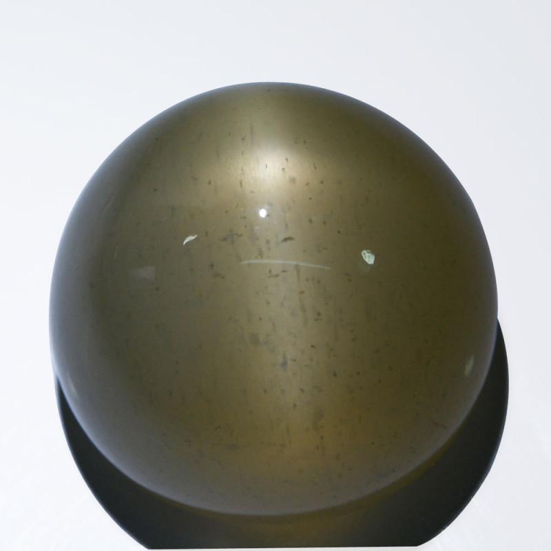 76.82Cts Natural Peach Moonstone Star Round Cabochon Kangayam India
