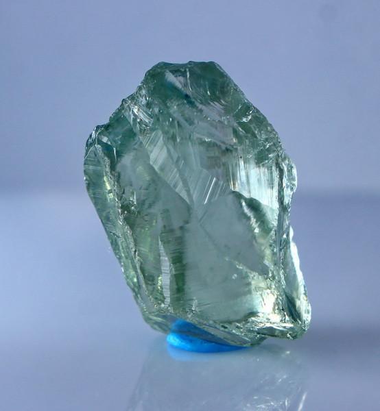 24.30 Cts Natural & Unheated Green Prasiolite Clean Facet Rough