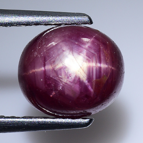 3.28 CT STAR RUBY BLOOD RED COLOR GEMSTONE GR28