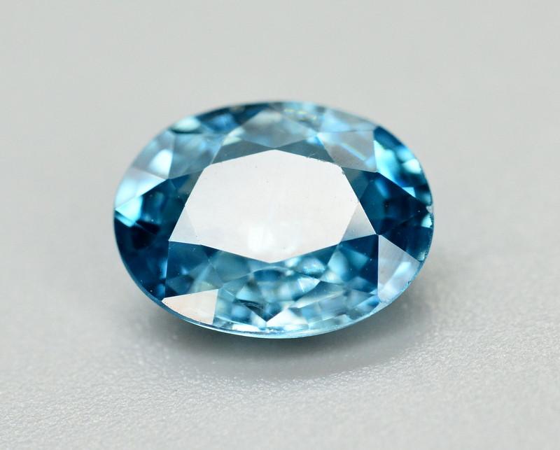 Vibrant Blue ~2.75 Ct Natural Zircon From Cambodia