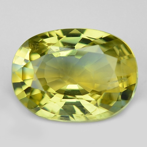 1.37 Cts Amazing Rare Natural Fancy Yellow Party Sapphire Loose Gemstone