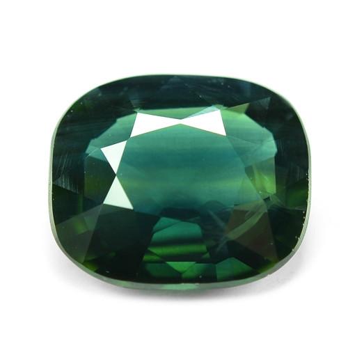1.75 Cts Amazing Rare Natural Fancy Greenish Blue Ceylon Sapphire Loose Gem