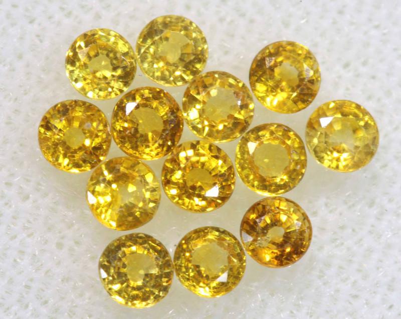 Yellow sapphires