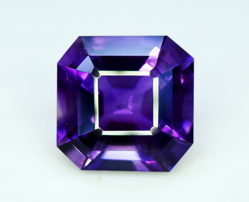 Amethyst, 14.70 Cts Natural Top Color & Cut Amethyst Gemstones