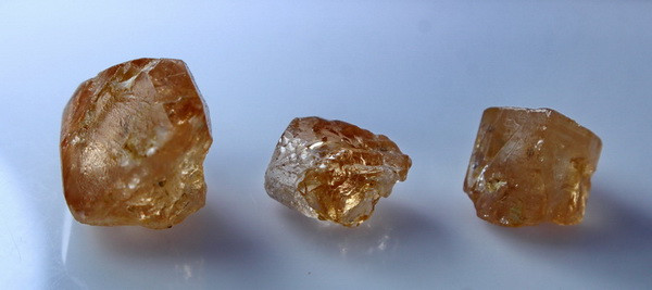 60.40CT Unheated ~ Natural Brown Color Topaz Rough Lot