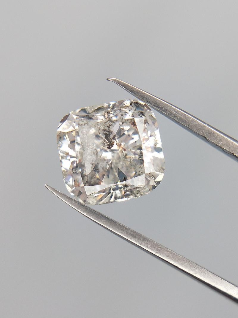 1.02 CTS , Rare Flawed Diamond , Cushion Brilliant cut , Natural Diamond
