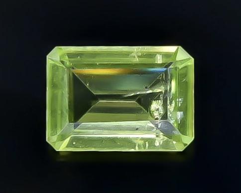 0.81 Crt Peridot Faceted Gemstone (Rk-56)