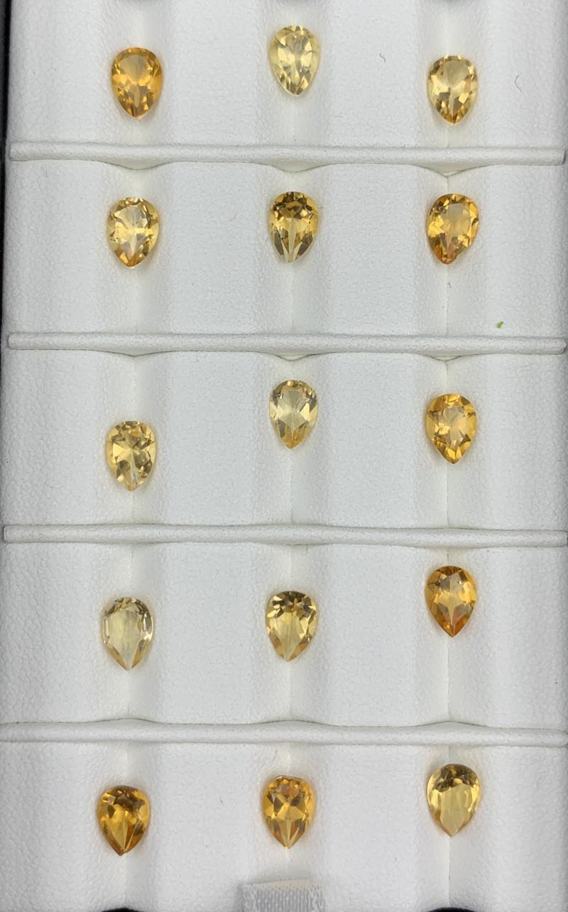 9.36 Carats Citrine  Gemstones Parcel