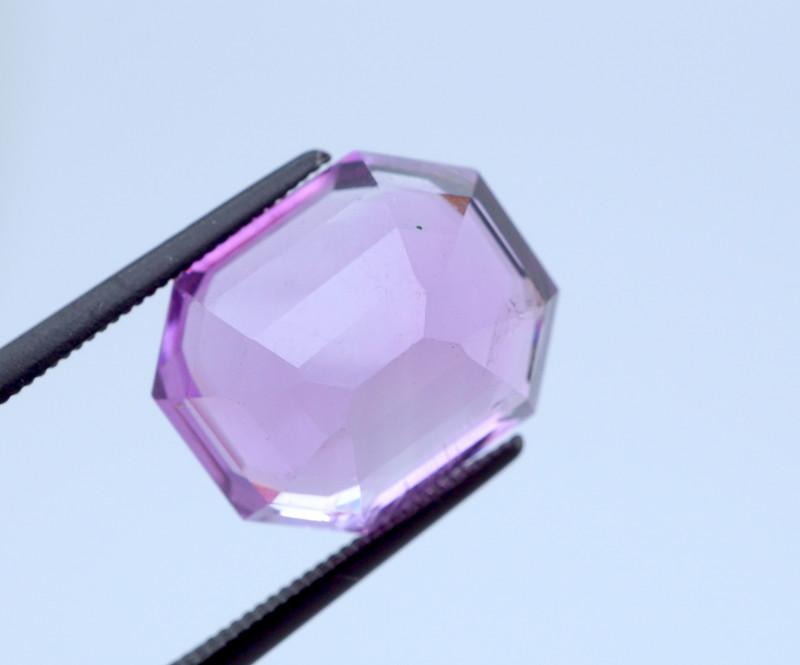 8.72 CT FREE SHIPPING Custom Fancy Cut Purple Amethyst Uruguay