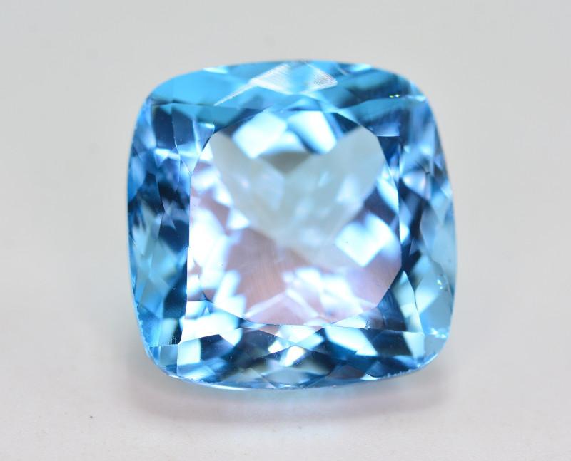 Stunning 37.80 Ct Natural Blue Topaz Gemstone