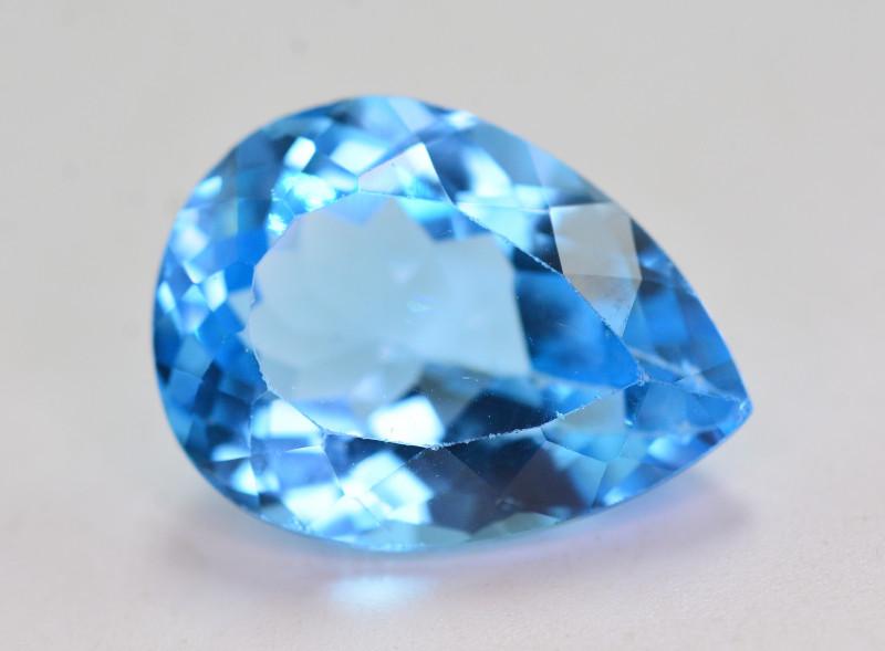 Stunning 18.50 Ct Natural Blue Topaz Gemstone