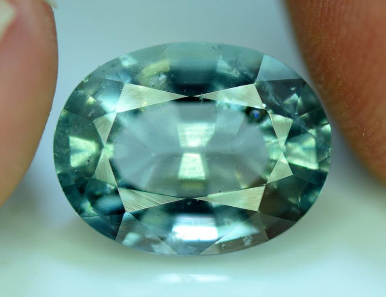 Aquamarine, 6.90 Cts Very Beautiful Aquamarine Gemstone