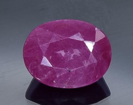 2.33 Crt  Ruby Faceted Gemstone (Rk-56)