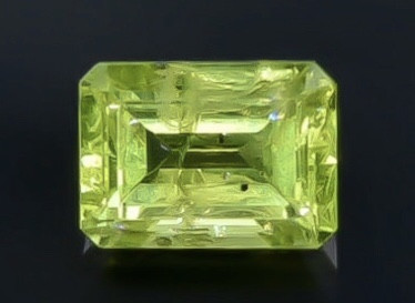 1.12 Crt  Peridot Faceted Gemstone (Rk-56)
