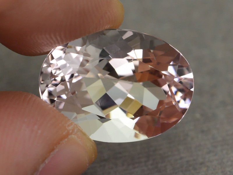 12.91 ct Morganite Light Pink AAA Grade Brazil  SKU.13