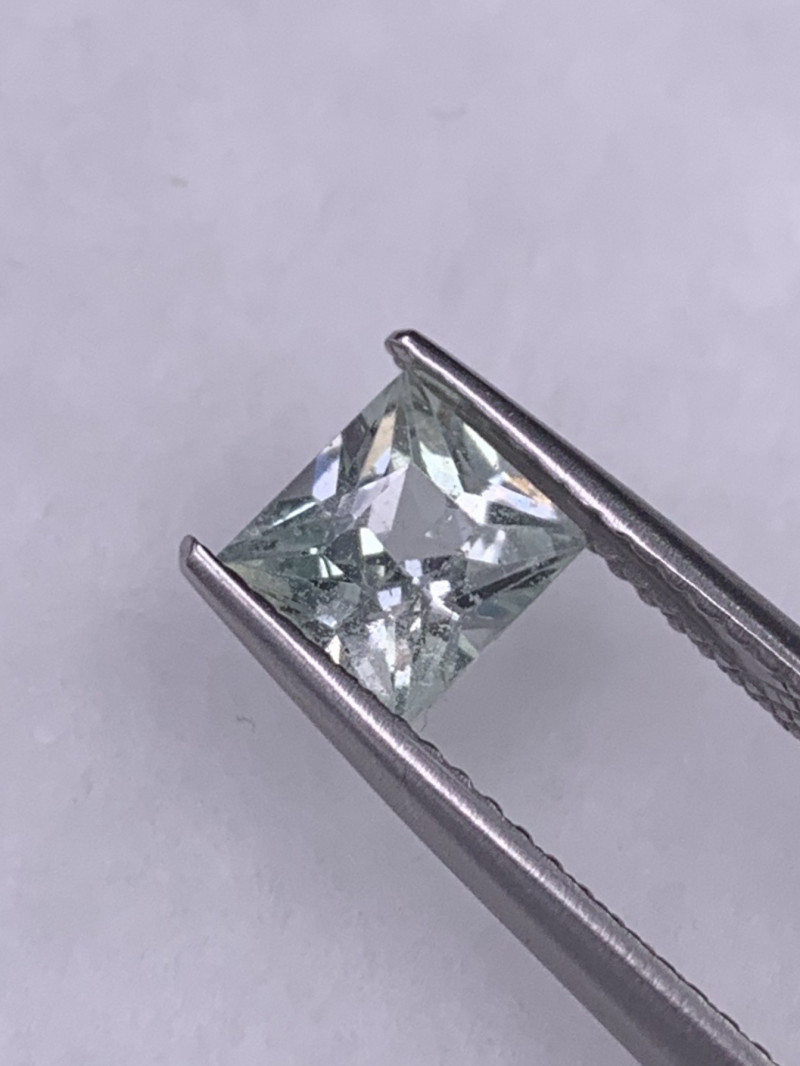 1.18 Cts Master Cut White Sapphire Unheated/Untreated Srilanka