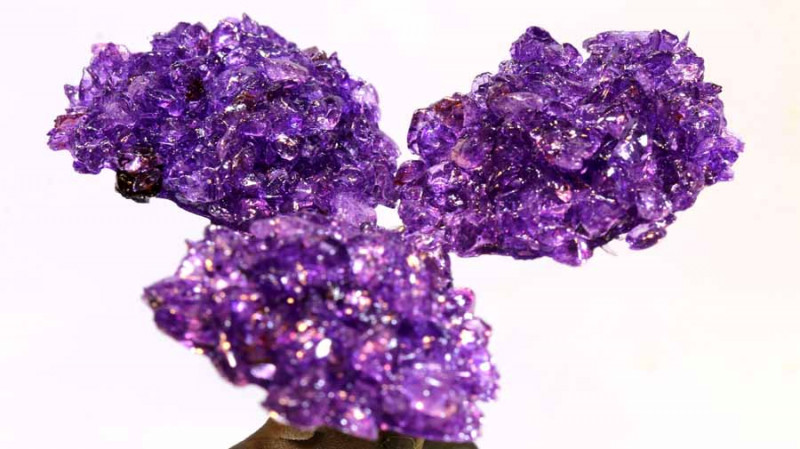 1100 CTS  BEAUTIFUL AMETHYST TREE CARVING   LT-1026