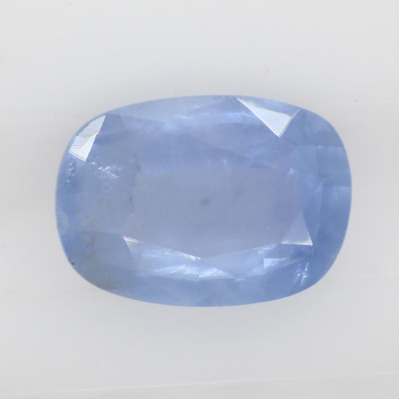 1.35 carats | Natural Blue Sapphire | 7.8 x 5.6 x 3 mm | Cushion Cut