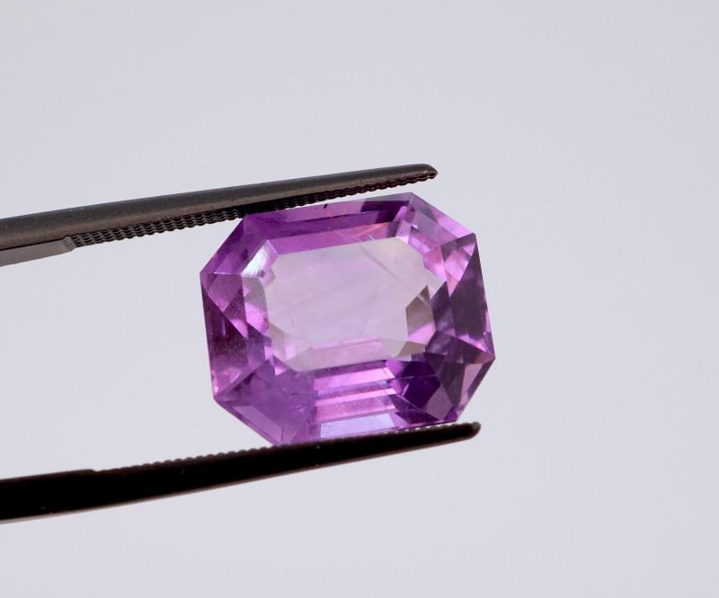8.84 CT FREE SHIPPING! Custom Fancy Cut Purple Amethyst (Uruguay)