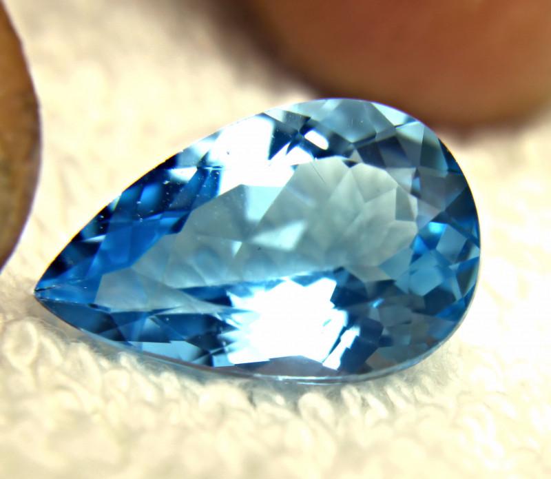 11.70 Carat Blue Brazilian Topaz - Gorgeous