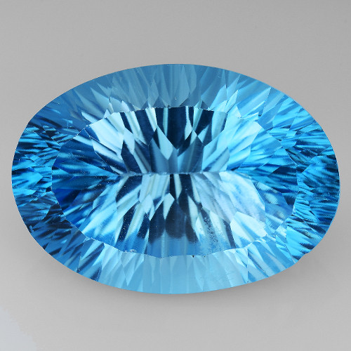 28.35 Cts Untreated Topaz Excellent Luster & Color Gemstone TP9