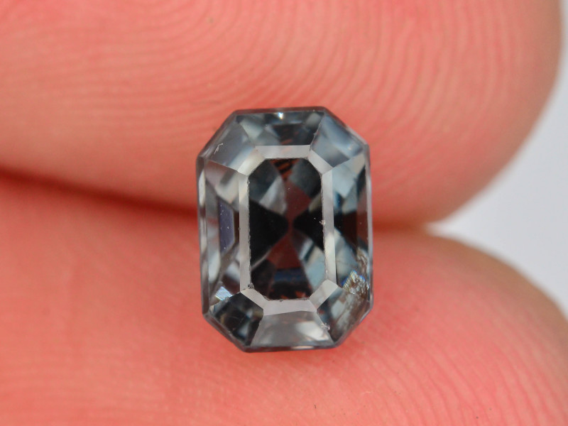 Top Asscher Cut 1.20 ct Natural Spinel ~ Mogok ~